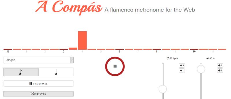 Métronome Flamenco gratuit A_comp10