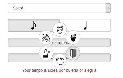 Métronome Flamenco gratuit A_comp12