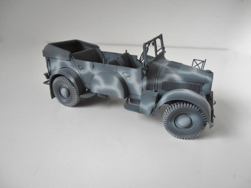 "Horch kfz 15 "" La panne "" ( italeri, 1/35eme ) P3270430"