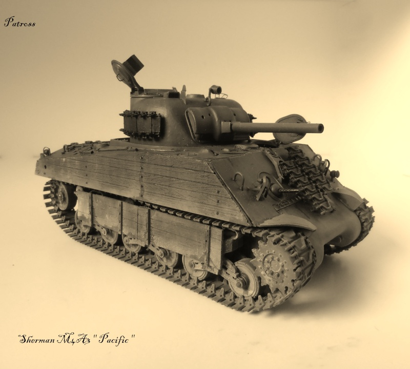 "Sherman M4A3 "" made in Pacifique "" ( Tamiya, Eduard, Neo Models au 1/35eme ) - Page 6 P3280416"