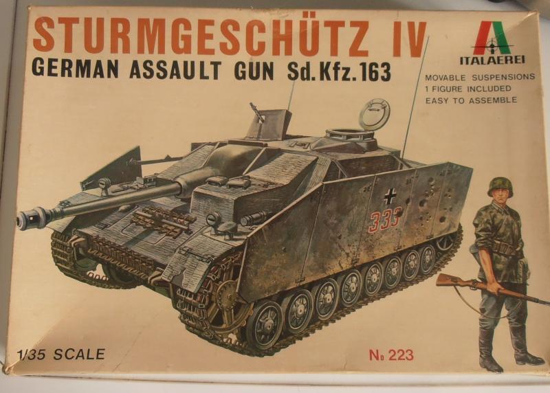 Stug IV Ausf.G  (Italeri au 1/35eme) P4020521