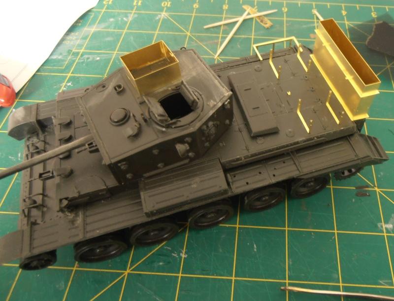 "Cromwell deep wading "" Normandie 1944 "" ( tamiya/ eduard au 1/35eme ) P4070613"