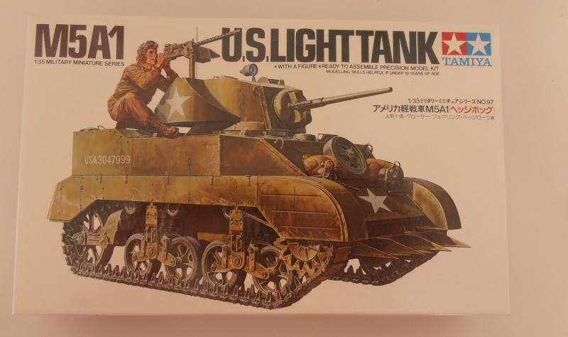 M5A1 Stuart ( Tamiya / Blast au 1/35eme ) P4180812