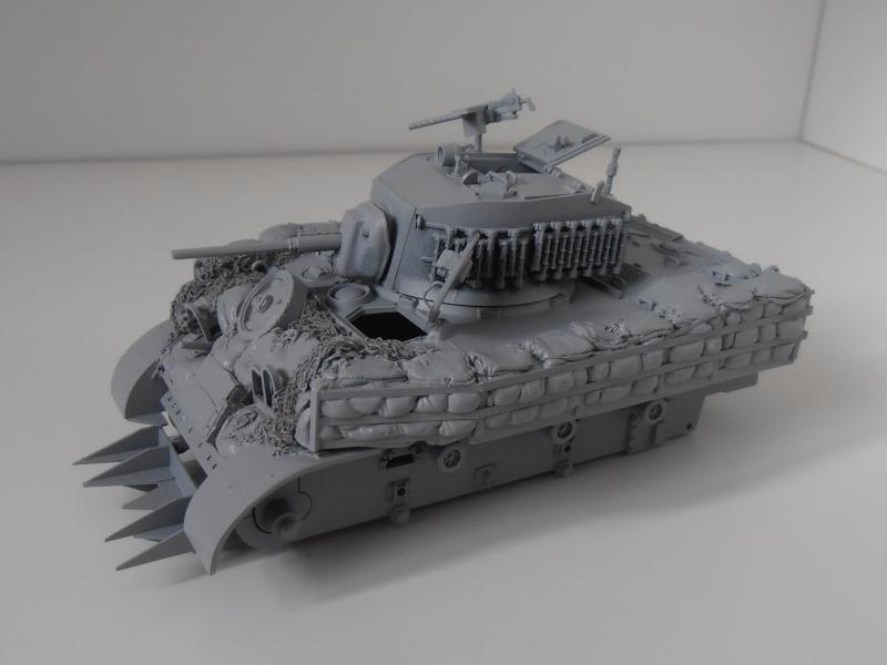 M5A1 Stuart ( Tamiya / Blast au 1/35eme ) P4240815