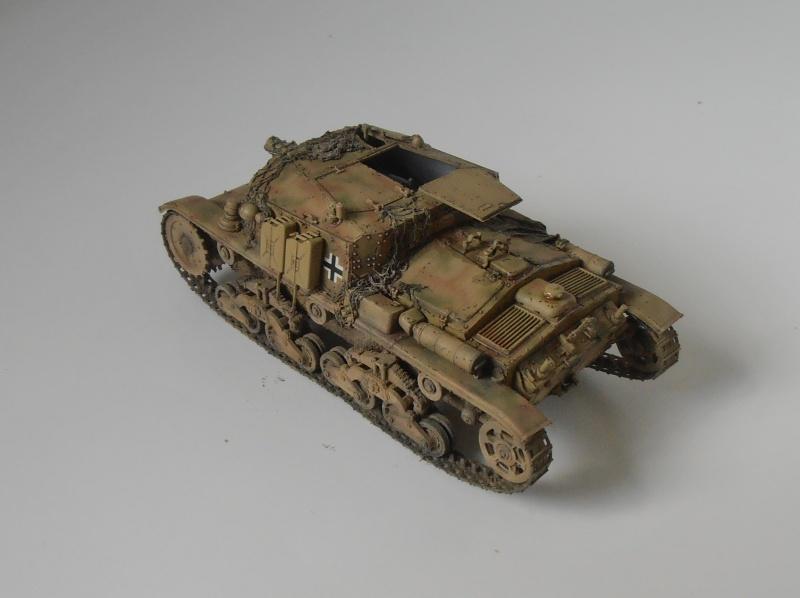 Semovente M40 75/18 ( Italeri au 1/35eme ) P5031012