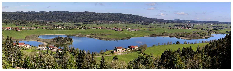 Au lac de l'abbaye, ce matin Panost11