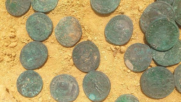 trésor de IV siècle trouvé en Espagne   Moneda10