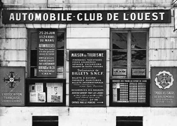 Les 110 ans de l'Automobile Club de l'Ouest. Facade11
