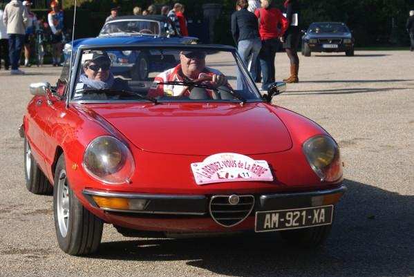 Les Rallyes d'automne du Rendez-Vous de la Reine Rallye26