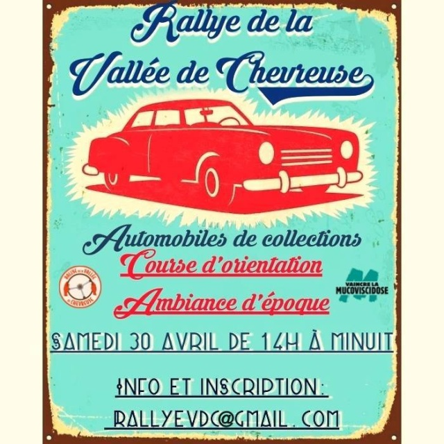 4ème Rallye de la Vallée de Chevreuse le samedi 30 avril 2016. Rallye27
