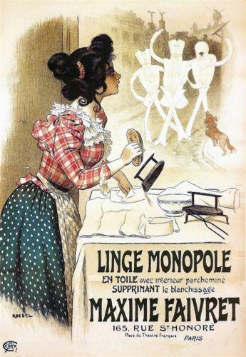 Les affiches du temps passé quand la pub s'appelait réclame .. - Page 22 3b454310
