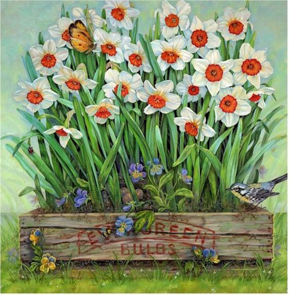 Les FLEURS  dans  L'ART - Page 22 6ffc6f10