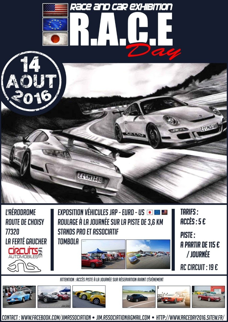 RACE DAY 2016 - Affiches et flyers Affich10