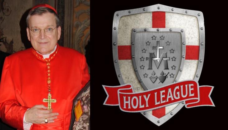 """Vidéo-Combat : """"Le Cardinal Burke fonde une Sainte Ligue Catholique"""" ! - Page 2 14184710"""