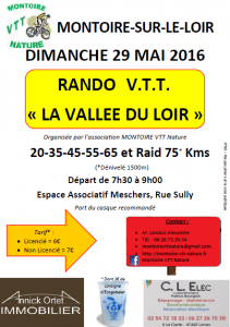 8ème Vallée du Loir - Montoire sur le Loir (41) 29/05/16 Affich11