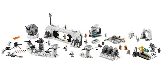 LEGO STARWARS - 75098 - L'attaque de Hoth  Captur10