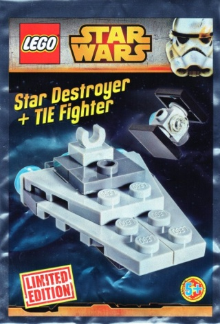LEGO STARWARS - 911510 - Micro Star Destroyer et Tie Fighter Sw911512