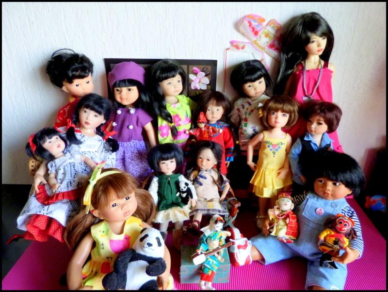 mes poupées d'Asie photo de groupe P1420612
