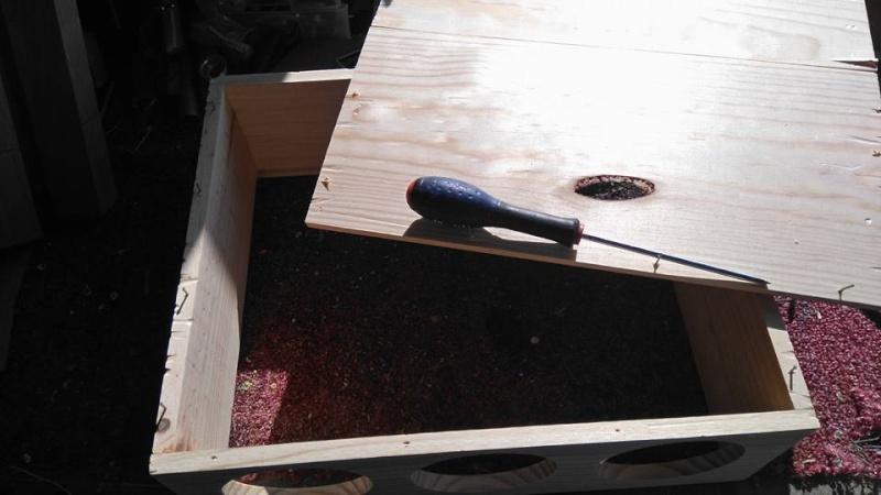 """Caisse de vin """"Win box guitar """" 12799410"""