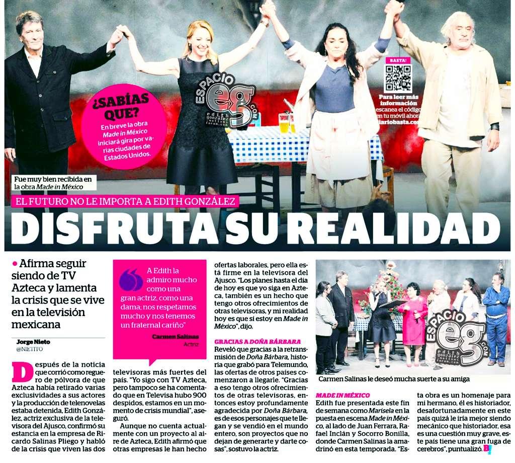 2015-06-23. [ SCAN ] Edith González disfruta su realidad Mim10