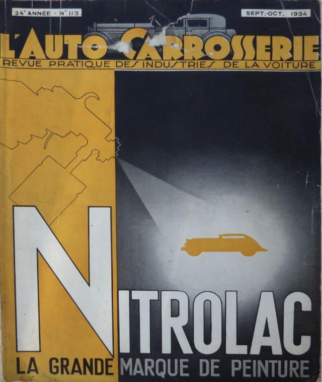 l'AUTO CARROSSERIE Revue Pratique des industries de la voiture Auto_c10