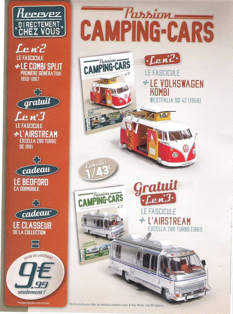 """2017 - Hachette Collections > """"Passion CAMPING-CARS"""" Campin10"""