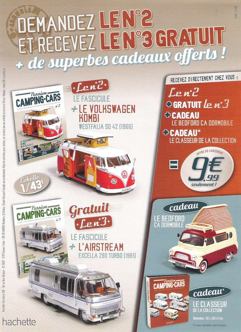 """2017 - Hachette Collections > """"Passion CAMPING-CARS"""" Campin11"""