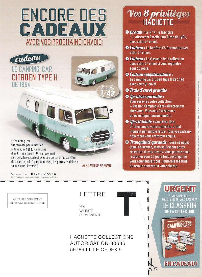 """2017 - Hachette Collections > """"Passion CAMPING-CARS"""" Campin12"""