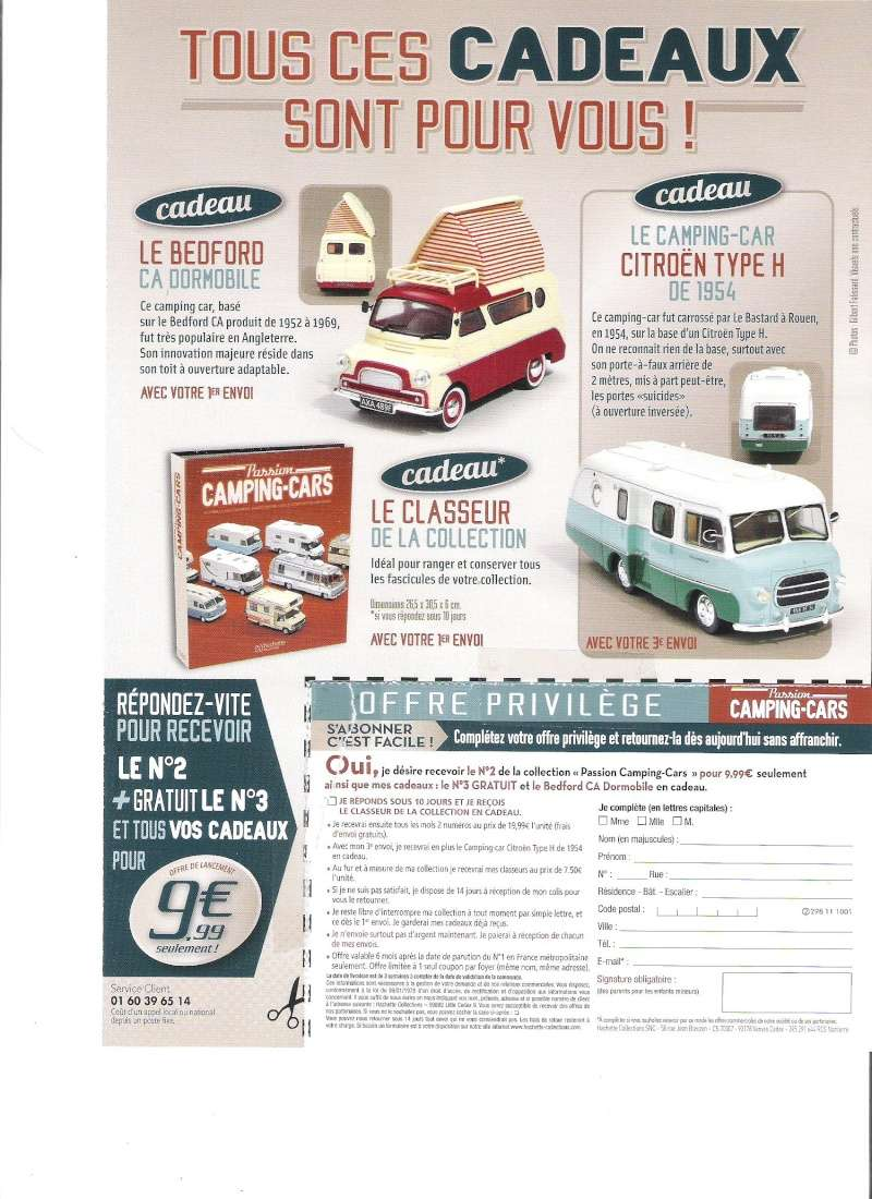 """2017 - Hachette Collections > """"Passion CAMPING-CARS"""" Campin13"""
