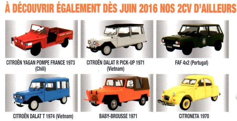 """2016 > NOUVEAU > DIECAST CLUB > """"Collection les 2CV du Monde"""" Captur14"""