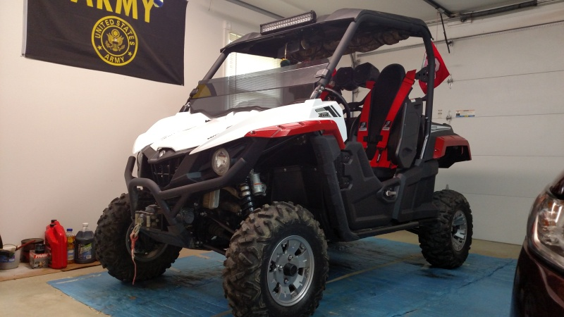 Added over fenders, harnesses, and light bar Image13