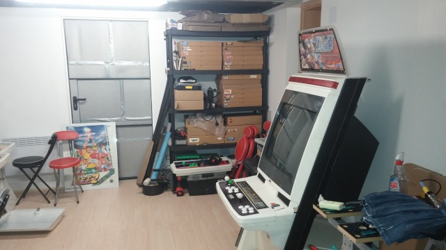 Ma future gameroom!!! 20160412