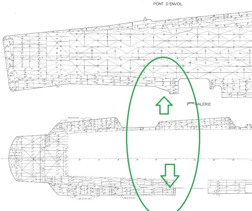 Le Clémenceau, porte-avions R98 (1/400 Heller) - Page 2 Clemen11