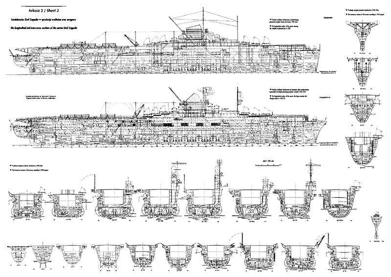 Le Flugzeugträger B,le sister-ship du Graf zeppelin inachevé Graffz10