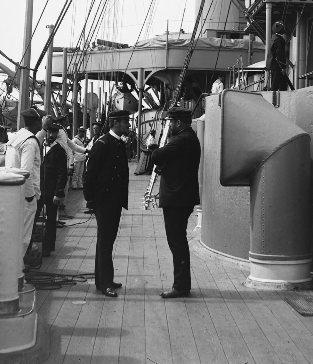 Les grandes manoeuvres navales de 1891 Man18910