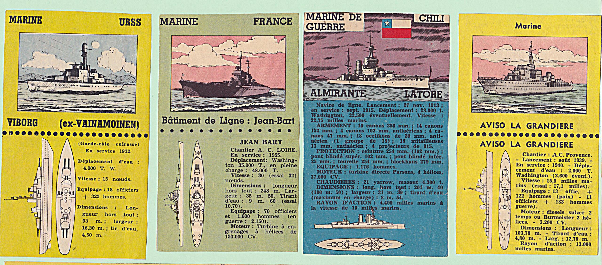 Fiches techniques pour jeunes Marine11