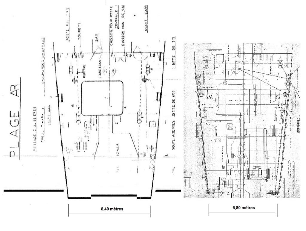 Frégate D609 ACONIT 1/400ème base HELLER + scratch - Page 2 Plagea11