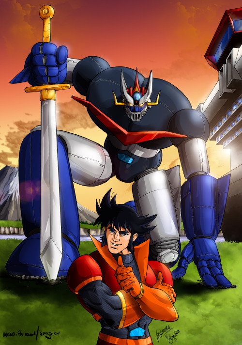 Great Mazinger : Fan-arts ! - Page 9 Tumblr13