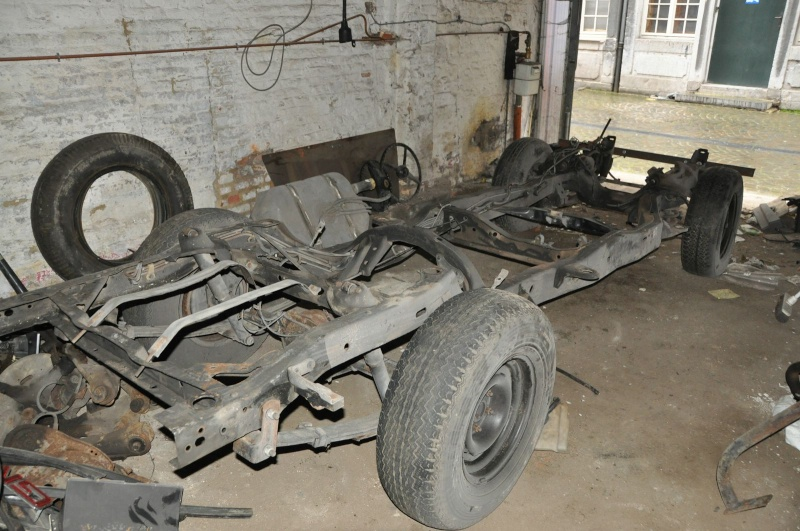 chassis s10 pour chevy pick up 47-54 ou autres ...  110