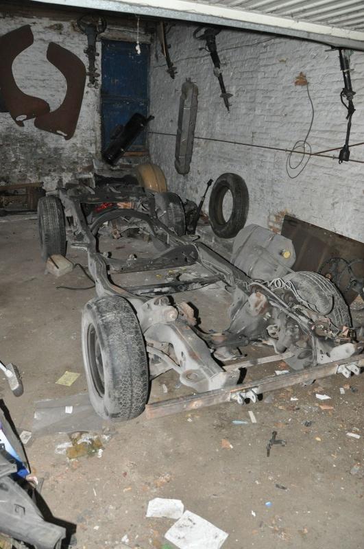 chassis s10 pour chevy pick up 47-54 ou autres ...  Dsc_5510