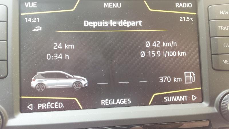 Seat Léon Cupra 5p - DSG6- tsi 290 gris étoile - Page 4 20160514