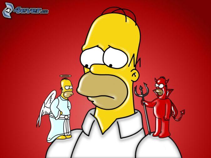 Ego, moi , soi , Soi , âme individuelle : qui suis-je,  selon les religions  et mon expérience?  - Page 3 Homer-10