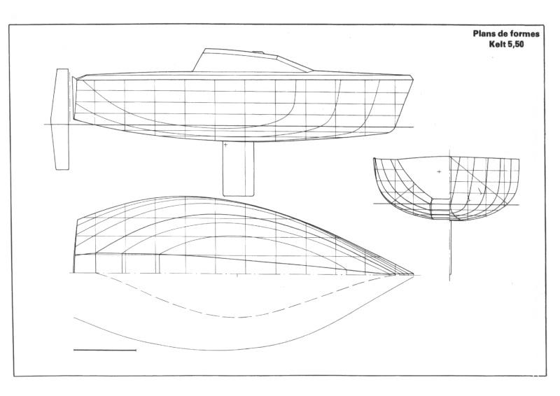 dimensions voiles d'avant Kelt-511