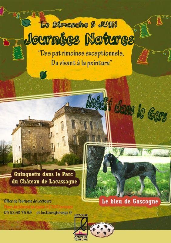 présentation de meute du club au château de Lacassagne (Gers) Affich10