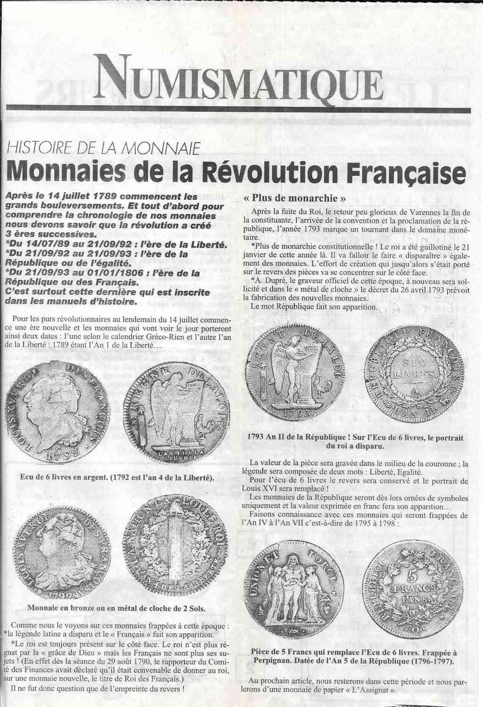 Havre - Histoire de la Monnaie 10-110