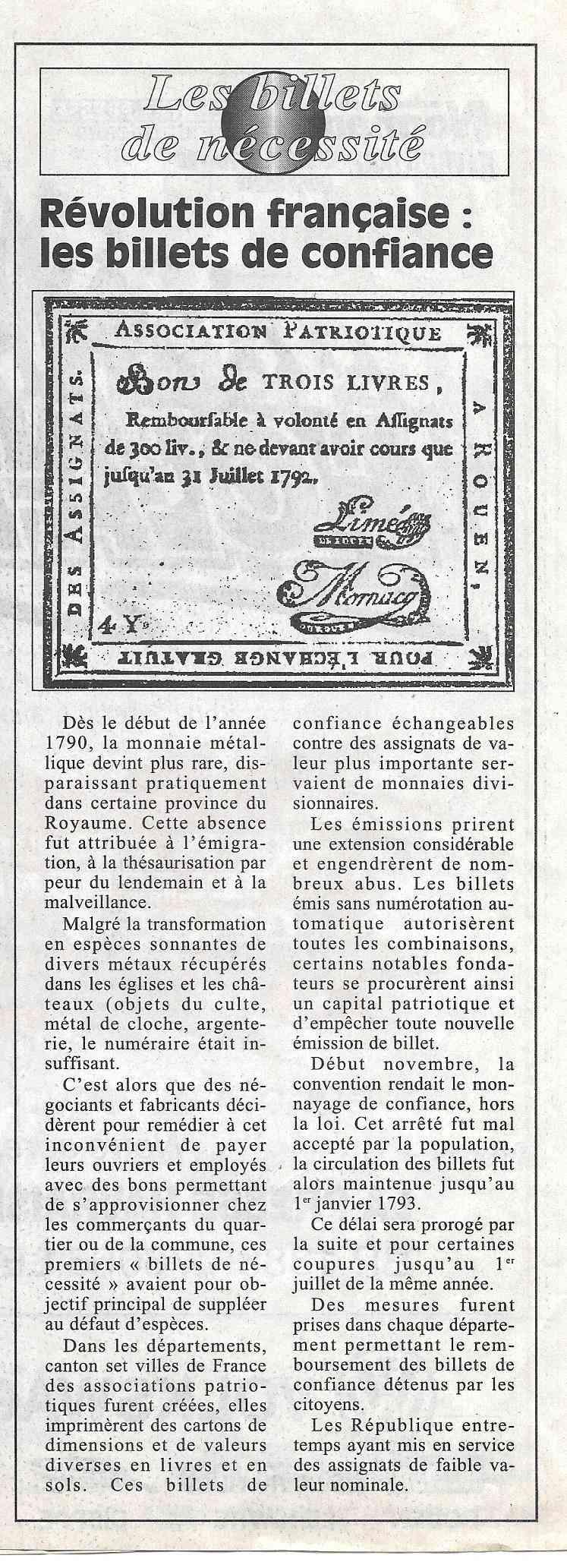 Havre - Histoire de la Monnaie 10-210