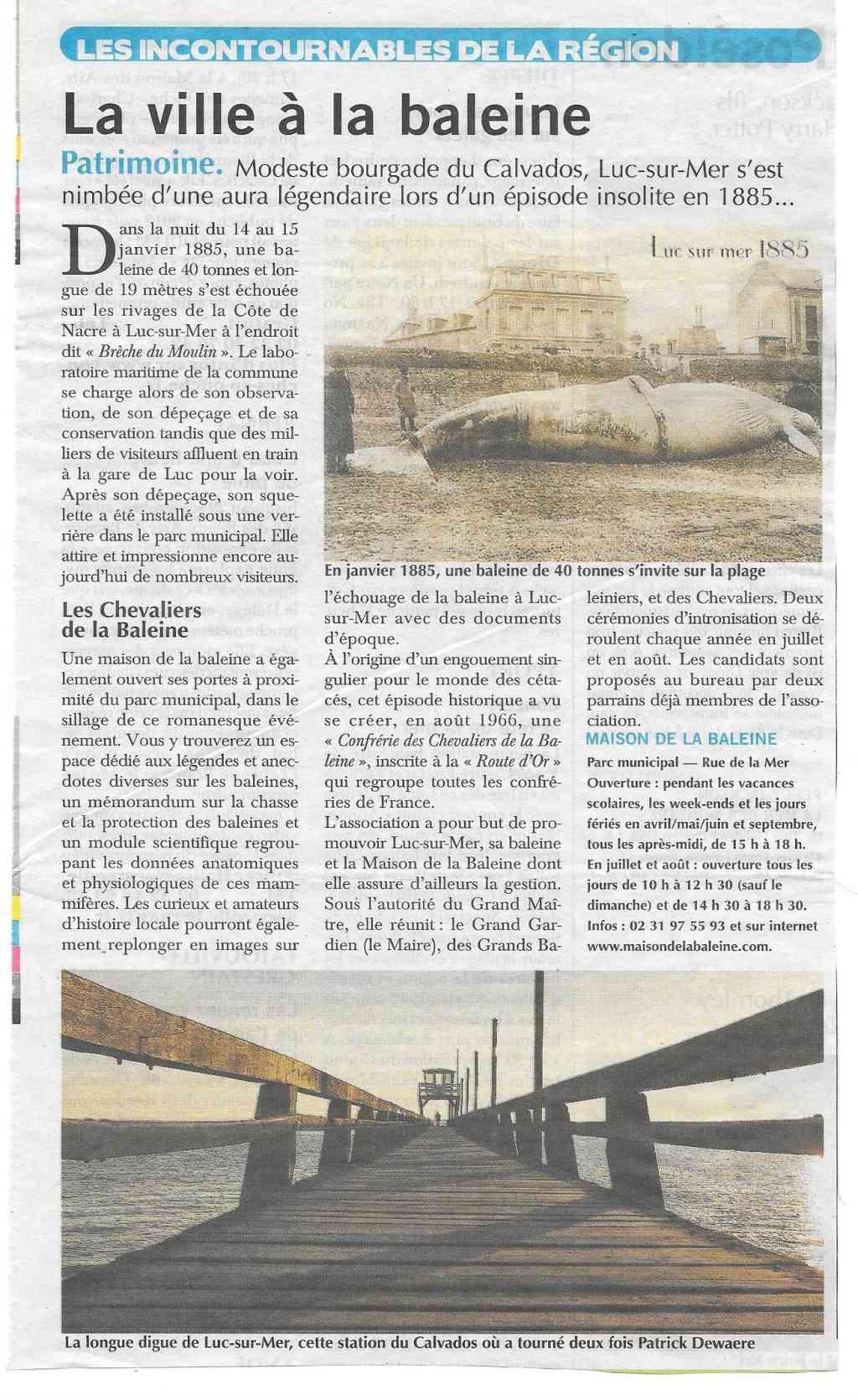 Histoire des communes - Luc-sur-Mer 1102