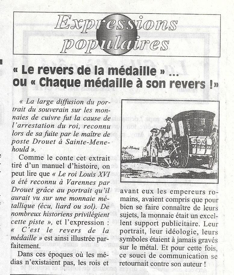 Havre - Histoire de la Monnaie 1111