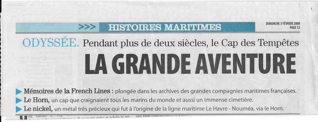 Histoire de bateaux - Les Cap-Horniers 1120