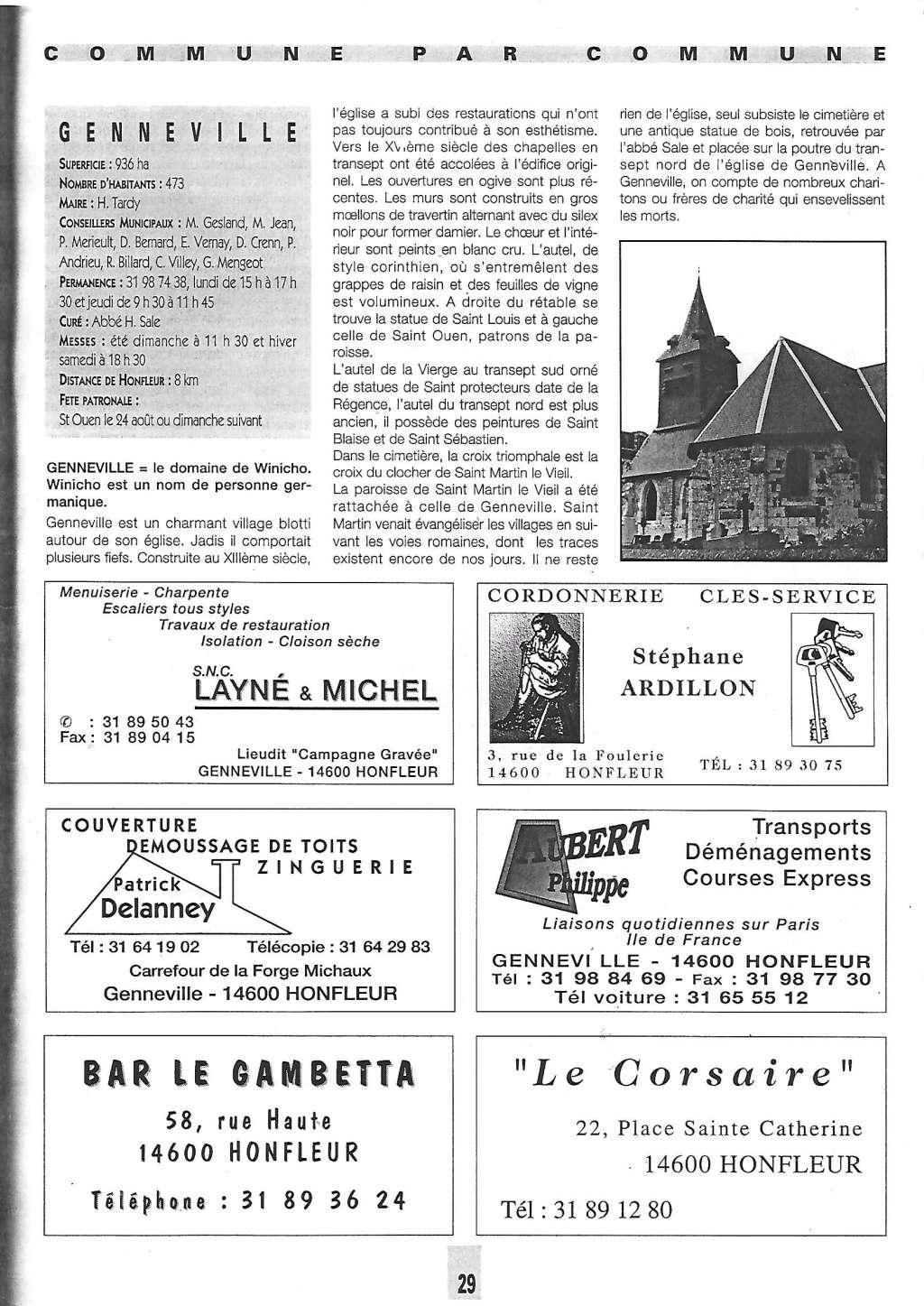 Histoire des communes - Genneville 1124